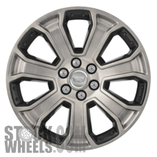 Picture of GMC SIERRA 1500 PICKUP (2014-2018) 22x9 Aluminum Alloy Chrome 7 Spoke [05661]