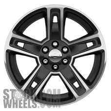 Picture of GMC SIERRA 1500 PICKUP (2014-2018) 22x9 Aluminum Alloy Chrome 5 Spoke [05664]