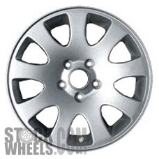 Picture of Audi A6 (1998-2004) 16x7 Aluminum Alloy Chrome Clad 9 Spoke [58717]