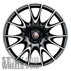 Picture of Jaguar XK (2014-2015) 20x9 Aluminum Alloy Machined with Black 7 V Spoke [59894]