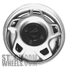 Picture of Pontiac LE MANS (1992-1993) 13x5.5 Steel Silver 5 Hole [60163]