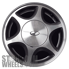 Picture of Oldsmobile SILHOUETTE (1997-2000) 15x6 Aluminum Alloy Chrome 6 Spoke [06028]
