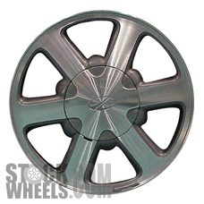 Picture of Oldsmobile BRAVADA (1998-2001) 15x7 Aluminum Alloy Chrome 6 Spoke [06032]