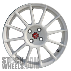 Picture of Fiat 500 (2012-2017) 17x7 Aluminum Alloy White 12 Spoke [61665B]
