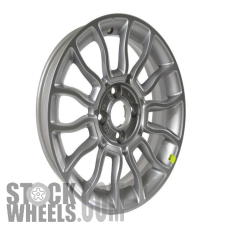 Picture of Fiat 500 (2012-2017) 15x6 Aluminum Alloy Silver 7 Y Spoke [61673]