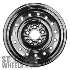 Picture of Infiniti G35 (2003-2004) 16x6.5 Steel Black 15 Hole [62322]