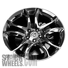 Picture of Nissan 370Z (2009-2012) 19x9 Aluminum Alloy Polished 10 Spoke [62554]