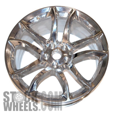 Picture of Nissan 370Z (2009-2012) 19x10 Aluminum Alloy Polished 10 Spoke [62555]