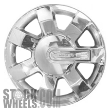 Picture of Hummer H3 (2006-2010) 16x7.5 Aluminum Alloy Chrome 7 Spoke [06303]
