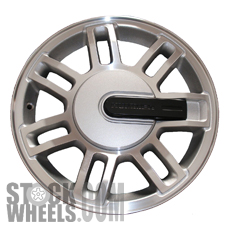 Picture of Hummer H3 (2008-2010) 16x7.5 Aluminum Alloy Machined and Silver 7 Double Spoke [06304C]