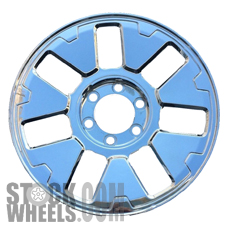Picture of Hummer H3 (2007-2010) 18x7.5 Aluminum Alloy Chrome 7 Spoke [06308]
