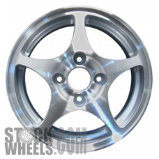 Picture of Acura EL (2001-2002) 15x6 Aluminum Alloy Machined and Silver 5 Spoke [63833]