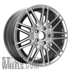 Picture of Honda ACCORD (2003-2007) 17x7 Aluminum Alloy Silver 9 Double Spoke [63863]