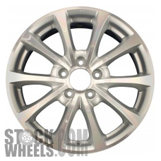 Picture of Honda S2000 (2006-2007) 17x7 Aluminum Alloy Chrome 5 V Spoke [63904]