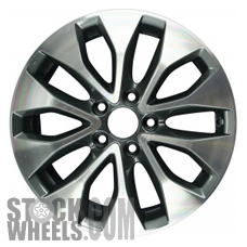 Picture of Honda ACCORD (2013-2015) 17x7.5 Aluminum Alloy Chrome 5 V Spoke [64050]