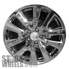 Picture of Honda ACCORD (2013-2015) 19x8 Aluminum Alloy Chrome 10 Spoke [64055A]