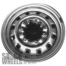 Picture of Isuzu PUP (PICKUP) (1991-1995) 14x5 Steel Silver 12 Hole [64195]