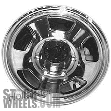 Picture of Mazda B-2600 (1987-1993) 15x6 Steel Chrome 5 Spoke [64692]