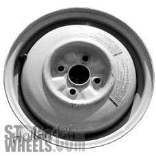 Picture of Mazda MX-3 (1992-1995) 14x4 Steel Grey  Solid Disc [64751]