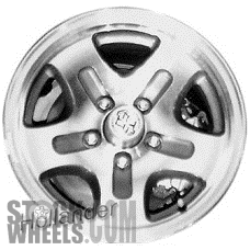 Picture of Mazda B-2300 (1994) 15x7 Aluminum Alloy Machined and Silver 5 Spoke [64756]