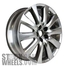 Picture of Mazda CX-9 (2007-2009) 20x7.5 Aluminum Alloy Chrome 10 Spoke [64900]