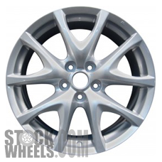 Picture of Mazda RX8 (2009-2011) 18x8 Aluminum Alloy Chrome 5 V Spoke [64916]