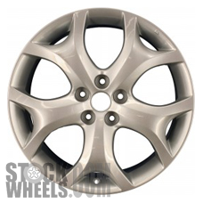 Picture of Mazda CX-7 (2010-2012) 19x7.5 Aluminum Alloy Chrome 5 Y Spoke [64933]