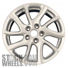 Picture of Mazda 5 (2012-2016) 17x6.5 Aluminum Alloy Chrome 5 Split Spoke [64949]