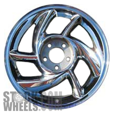Picture of Pontiac BONNEVILLE (2000-2001) 17x7.5 Aluminum Alloy Chrome 6 Spoke [06539]