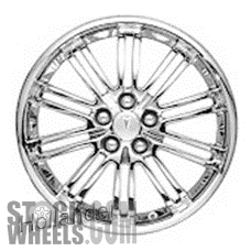 Picture of Pontiac G6 (2006-2010) 18x7 Aluminum Alloy Chrome 10 Double Spoke [06609]