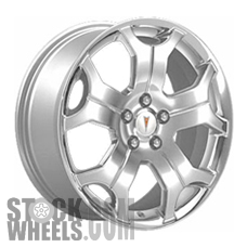 Picture of Pontiac SOLSTICE (2007-2010) 18x8 Aluminum Alloy Chrome 5 Spoke [06618]