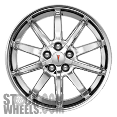 Picture of Pontiac SOLSTICE (2006-2010) 18x8 Aluminum Alloy Chrome 10 Spoke [06634]
