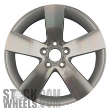 Picture of Pontiac G8 (2008-2009) 19x8 Aluminum Alloy Machined with Silver 5 Spoke [06640]