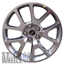Picture of Pontiac G8 (2009) 19x8 Aluminum Alloy Polished 5 Split Spoke [06651]