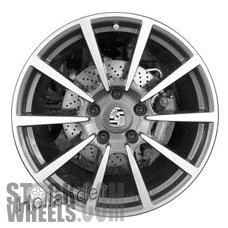 Picture of Porsche 911 (2012-2016) 20x8.5 Aluminum Alloy Chrome 10 Spoke [67425]