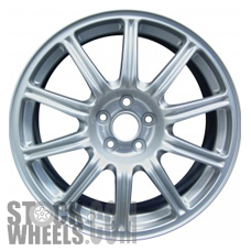Picture of Subaru IMPREZA (2004) 17x7.5 Aluminum Alloy Silver 10 Spoke [68734B]