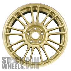 Picture of Subaru IMPREZA (2008-2013) 18x8.5 Aluminum Alloy Gold 9 Double Spoke [68778A]