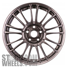 Picture of Subaru IMPREZA (2010-2014) 18x8.5 Aluminum Alloy Hyper Silver 9 Double Spoke [68778C]