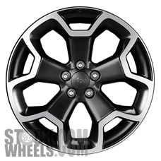 Picture of Subaru XV CROSSTREK (2013-2015) 17x7 Aluminum Alloy Chrome 5 Spoke [68806]