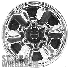 Picture of Toyota LAND CRUISER (1991-1992) 15x6 Steel Chrome 6 Spoke [69260]