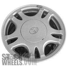 Picture of Toyota CAMRY (1992-1996) 14x5.5 Aluminum Alloy Silver 5 Double Spoke [69295]