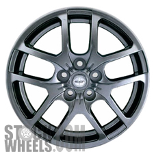 Picture of Scion XB (2008-2015) 17x7 Aluminum Alloy Chrome 5 Double Spoke [69551]