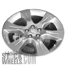 Picture of Toyota SIENNA (2011-2017) 19x7 Aluminum Alloy Chrome 6 Spoke [69582]