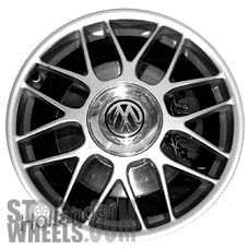 Picture of Volkswagen GOLF (2003-2007) 18x7.5 Aluminum Alloy Chrome 8 Y Spoke [69811]