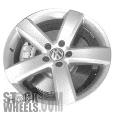 Picture of Volkswagen CC (2009-2012) 18x8 Aluminum Alloy Chrome 5 Spoke [69889]
