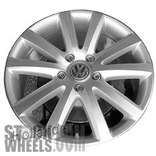 Picture of Volkswagen TOUAREG (2006-2010) 20x9 Aluminum Alloy Chrome 10 Spoke [69901]