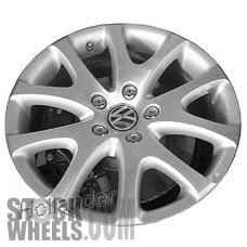 Picture of Volkswagen TOUAREG (2006-2010) 19x9 Aluminum Alloy Chrome 5 Y Spoke [69903]