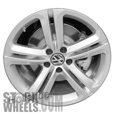 Picture of Volkswagen CC (2012-2017) 18x8 Aluminum Alloy Chrome 5 Double Spoke [69924]
