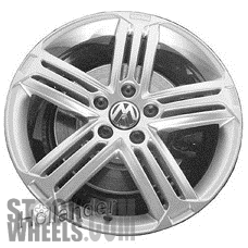 Picture of Volkswagen GOLF (2012-2014) 18x7.5 Aluminum Alloy Chrome 5 Triple Spoke [69942]