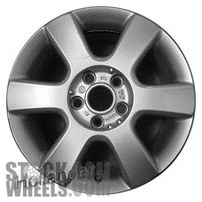 Picture of Volkswagen JETTA (2005-2010) 16x6.5 Aluminum Alloy Silver 6 Spoke [69945]